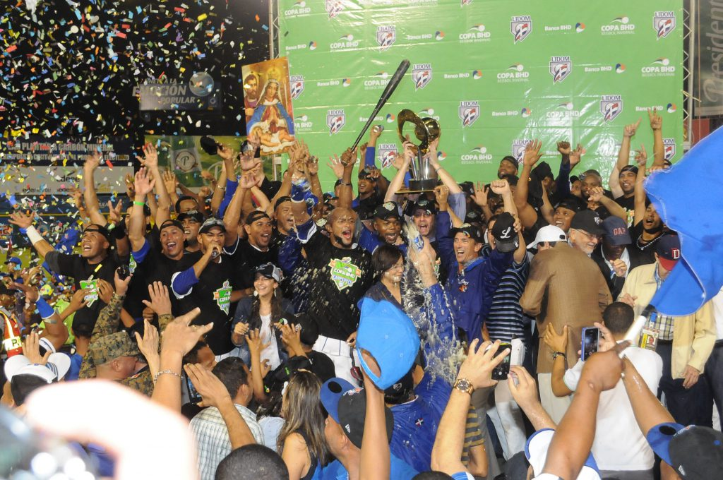 Licey Campeon 2014 1