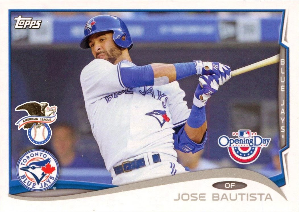 2014 Topps Opening Day #166 Jose Bautista All-Star