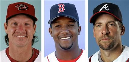 Randy Johnson, Pedro Martinez, John Smoltz