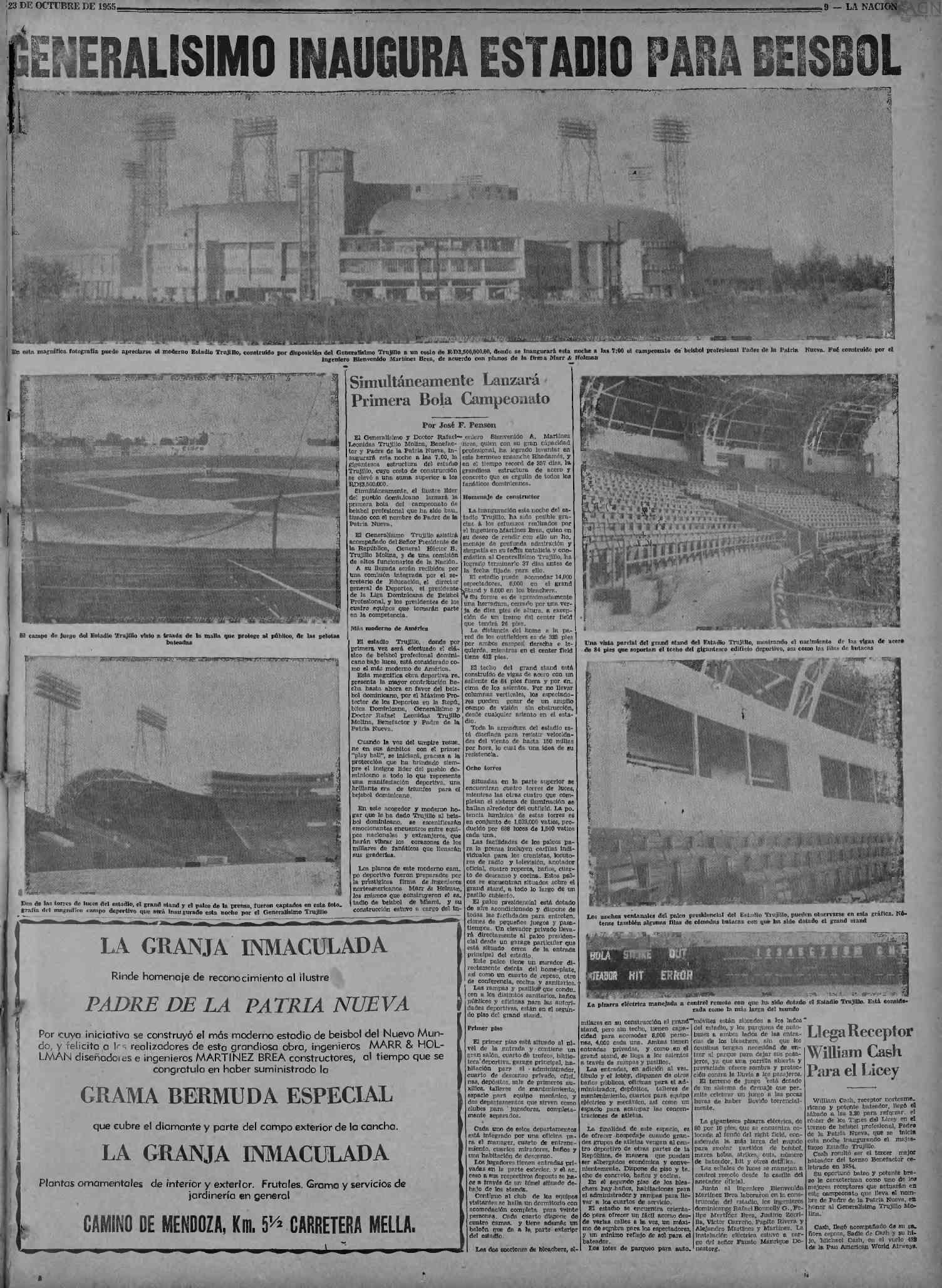Octubre 23, 1955 LA NACION (pagina)