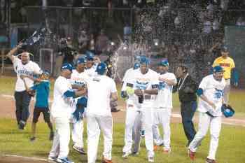 serie latinoamericana de beisbol, gigantes de rivas campeones.