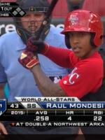 Reyes y Mondesí son los prospectos 1 para Baseball America