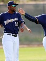Domingo Santana y Rymer Liriano sueñan con jugar juntos en MLB