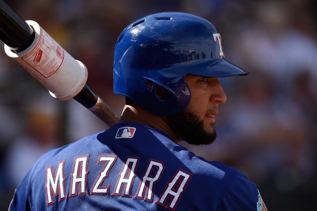 Nomar Mazara fue el Novato del Mes en la Liga Americana