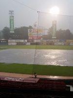 Suspendido por lluvias juego Licey vs Gigantes