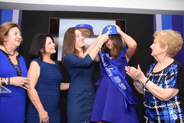 Rama Femenina del Licey presenta nueva madrina