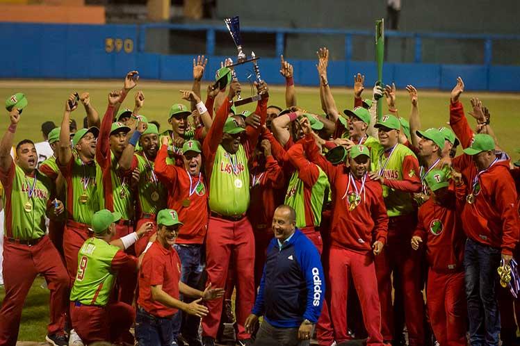 Las Tunas campeón por primera vez en el béisbol cubano
