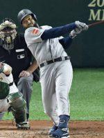 Domingo Santana conecta grand slam en apertura en Japón