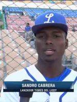 Sandro Cabrera busca ayudar al Licey dominando los zurdos