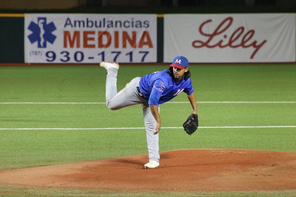 Jason García, lanzador trae Licey de Liga Puerto Rico
