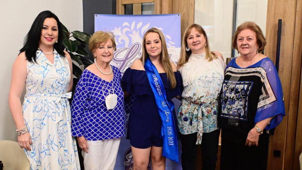 Rama Femenina Licey presenta Adriana Fernández Pou, madrina para campaña 2021-22